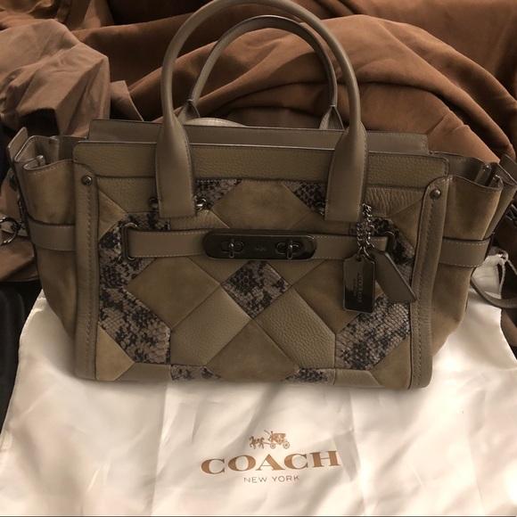 Coach Handbags - Coach Patchwork Bag